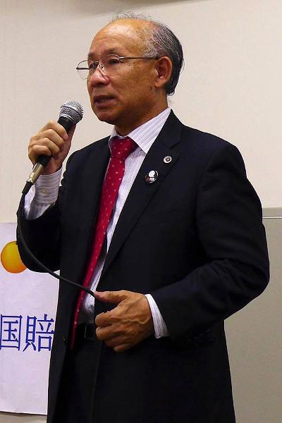 宇都宮健児弁護士(弁護団長)