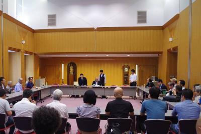 報告集会(弁護士会館/2017年7月19日)